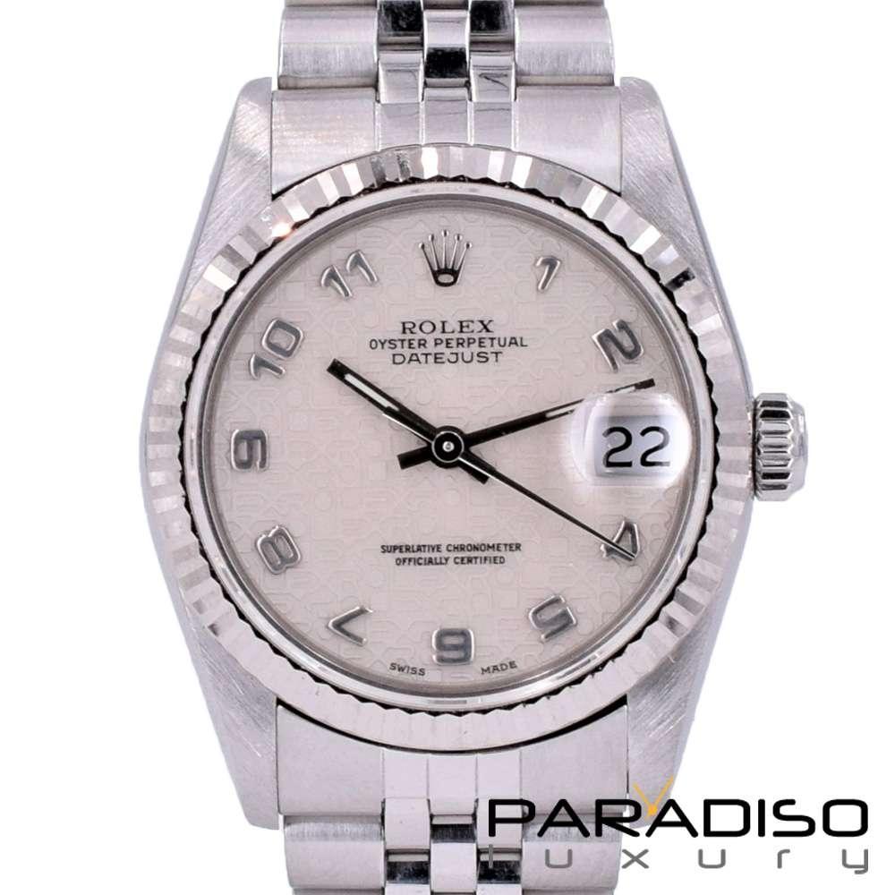 b7002da010d Rolex Datejust 31 Original Jubilee Dial Arabic Numerals Full Set Like New